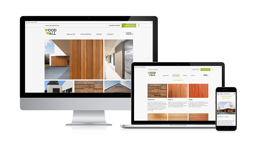 Woodwall website